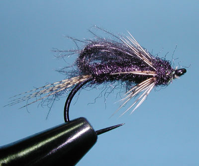 CDC Bubbleback Caddis Emerger, Black