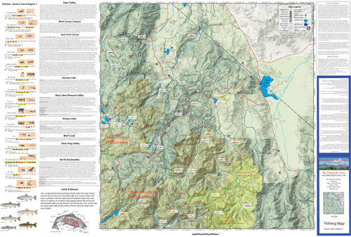Eastern Sierra Map Region 1