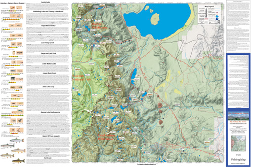 Eastern Sierra Map Region 3