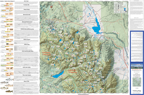 Eastern Sierra Map Region 4
