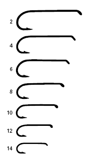 Gratifying image inside fly fishing hook size chart printable