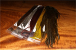Keough Half Grizzly Saddle Hackle